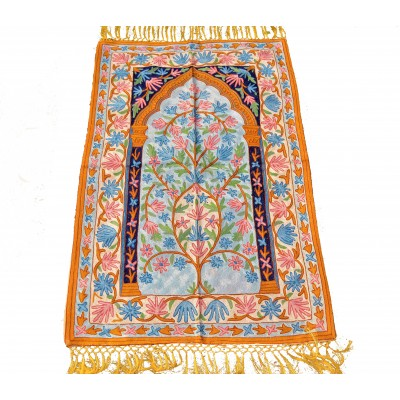 Root Floral Handcrafted Rug
